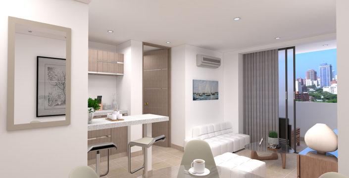 New Boston Towers apartamento